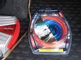 Новый комплект проводов 200 лей б/у 150 лей для подключения сабвуфера, усилителя