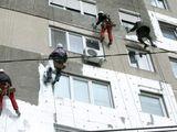 Высотные работы- утепление стен -монтаж козырьков,отливов,белевые кранштэины