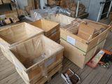 Большие коробки из прочной фанеры. Ladă