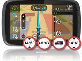 """Tomtom go 6000 4fl60 6""""  europe uk maps traffic truck tir. credit!"""