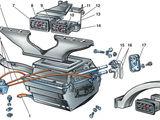 Ремонт системы отопления салона