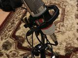 Продам микрофон вместе со стойкой