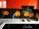 Фартук скинали в интерьере современной кухни