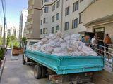 Вывоз стороительного мусора. Evacuarea gunoiului de constructii