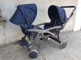 Super коляска для двойни, близнецы, итальянская twin cam pulsar. Carucior modular pentru gemeni.