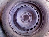 Шина зимняя Hankook и BMW диск, стальной 5x120 R15