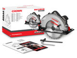 Дисковая пила 2000w Crown Professional ct15210-235