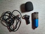 Microfon BM-800 de Studiu + accesorii