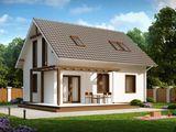 Casa din cotelet 123 mp la doar 51660 varianta alba