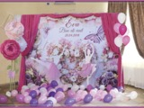 Fotopanou, fotostand, foto banner, panou foto, brandwall pentru nunta, cumetrie, zile de nastere.