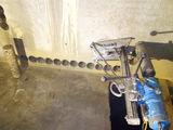 Алмазное сверление отверстий под вытяжку отдушину кондиционер вентиляцию и др