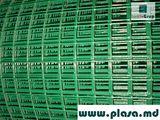 Сетка сварная с пвх покрытием (поливинилхлорид),сварная оцинкованная,заборы,столбы