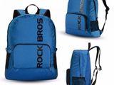 Очень качественный складной рюкзак ультра легкий фирмы  rockbros - 350 лей, торг.  синего цвета.  во