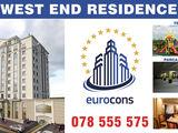 WEST END RESIDENCE-2-ком, 302 euro/мес