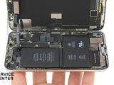 Iphone X  Se descară bateria. Noi rapid îți rezolvăm problema!