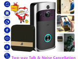 Видеозвонок беспроводной,  wifi, с разными опциями , новый