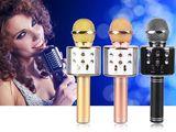 Microfon wireless fara fir + boxa 2in1