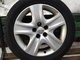 Cauciucuri 4 buc, cu discuri, Semperit, 225-50-17,Opel Insignia,Signum,Vectra, 70%,255eu.