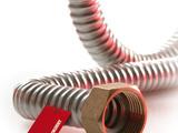 Трубы для подключения газовых котлов и плит (длина по заказу, нержавейка, с сертификатом рм!)