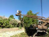Вырубка деревьев. Зачистка территорий.