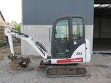 Prestări servicii mini-excavator Bobcat + Basculantă