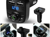 Wireless Bluetooth FM Transmitter MP3 Player With Dual USB Ports Charging  190 lei