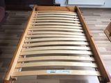 Pat din lemn natural IKEa