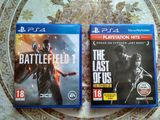 Продам 2 игры на PS4 в хорошем состоянии