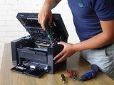 Reparatia imprimantelor(printere) si încărcarea cartușelor. Centru.