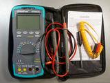 Мультиметр HoldPeak HP890CN. Набор пинцетов 9шт. Щупы для мультиметра. Термопары.