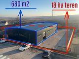 Новое и уникальное промышленное помещение, 680 кв.м, на участке размером 18 соток