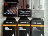 Cablu pentru iPhone/ Type-C/micro USB/cablu AUX//кабель для iPhone/ Type-C/ micro USB/ кабель AUX.