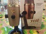 Микрофон Blue Yeti Nano. Новый