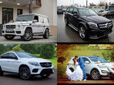 VIP nunți/delegații etc. Transport cu șofer