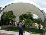 Оформим палатку корт шатер