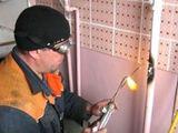 Сварщик,газосварщик,sudor,gazosudor. допуск на газ. ремонт и замена труб стояков.