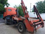 Servicii transport deșeuri,gunoi construcții,мусор. Container 7-8-9-12m3. Fără intermediari.