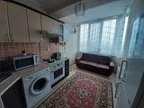 Vînd apartament cu o odaie Euroreparație Încălzire autonomă Mobilat + tehnica