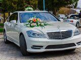 Mercedes-benz S-class 2013, alb/negru, chirie auto pentru Nunta ta!!!