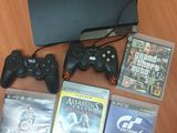 PlayStation 3 Slim 160 Gb + 4 Jocuri