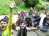 Детский дневной лагерь при санатории на Ботанике