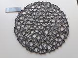 Продам  четыре, новые плетеные салфетки на стол, серого цвета..по 50 лей штука