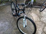 Vind bicicleta Oscar  cu pret normal + cadou amortizat sunt noi si cauciucurile totul