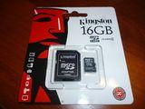 Микро СД карта памяти 16, 32, 64, 128 ГБ