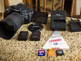 Nikon D5100 4800lei tot complectul de pe foto