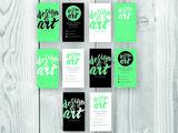 Создаём макеты баннеров, визиток, флаеров, меню