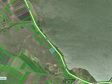 Новая цена за 25 соток на берегу озера в с. Костешты, Яловенского р-на, первая линия