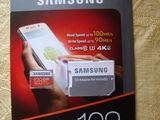 Micro SDXC Samsung EVO Plus, 128 Gb, original, pentru Europa, produs in Phillipines, NOU, sigilat.