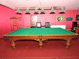 Дубовые бильярдные столы rafael б/у  по супер цене.