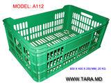 Lazi din plastic trainice, pentru recoltare/transportare/procesare